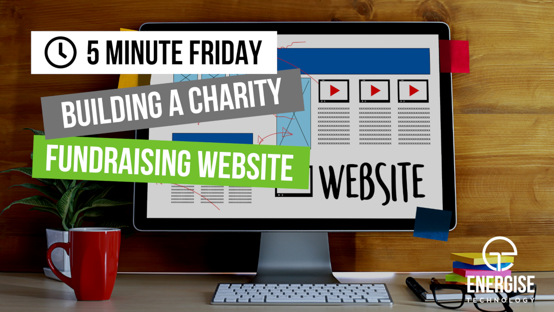 Building a Charity Fundraising Website