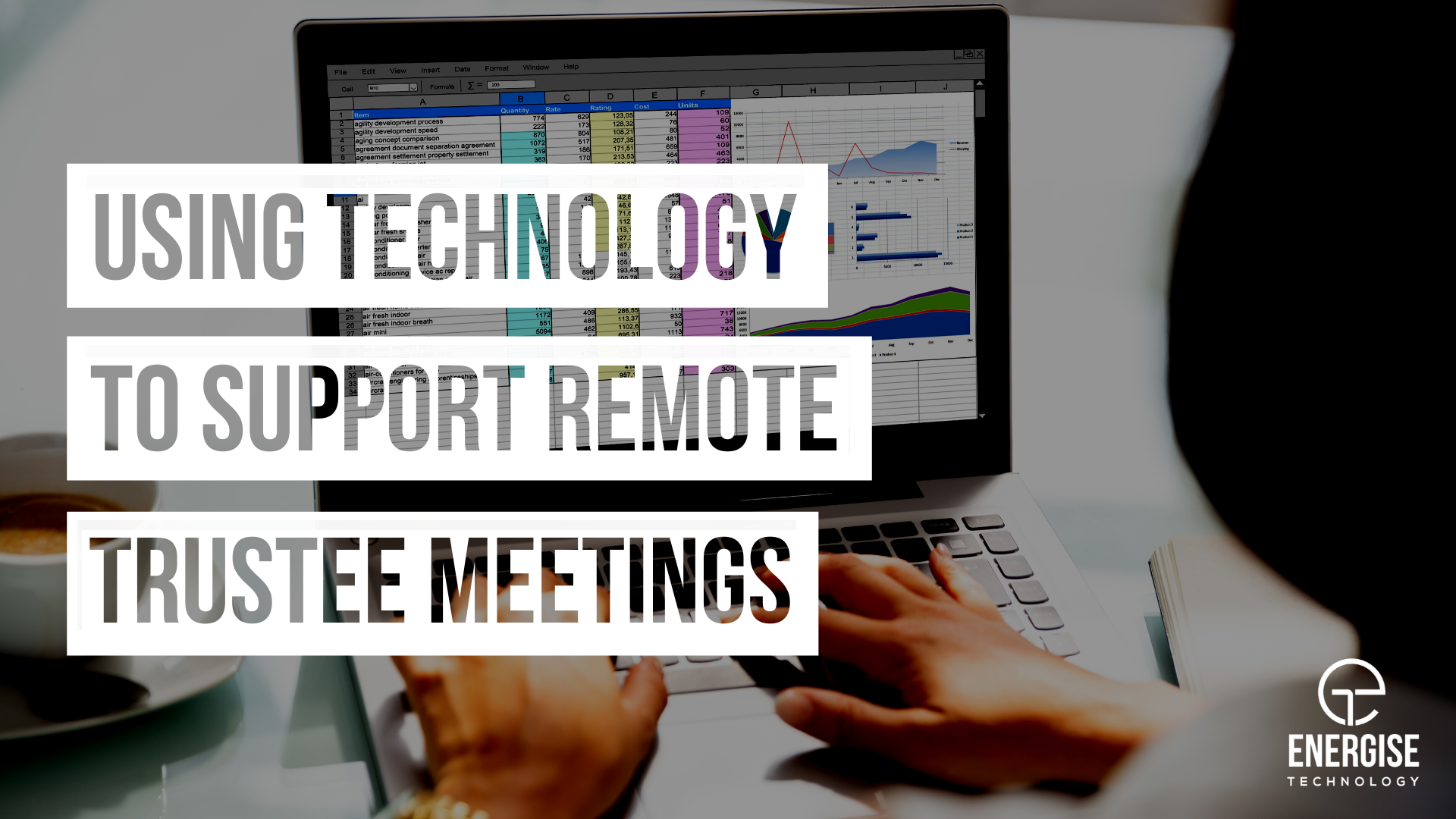 Using technology to support remote trustee meetings